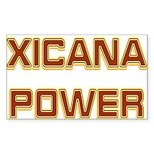 Xicana Power Trekker Rectangle Decal