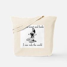 corset pinup Tote Bag