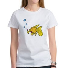 Fish Blowing Bubbles Tee