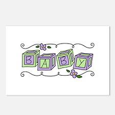Baby Blocks Postcards (Package of 8)