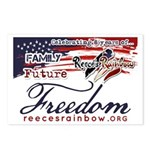 Family Future Freedom Postcards (Package of 8)