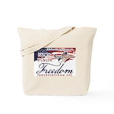 Family Future Freedom Tote Bag