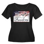 Family Future Freedom Plus Size T-Shirt