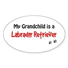 Grandchild Lab Decal