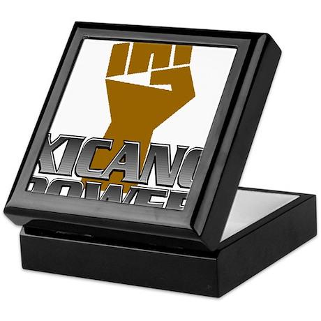 Xicano Power Fist Keepsake Box