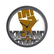 Xicano Power Fist Wall Clock