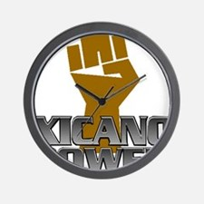 Xicano Power Fist Wall Clock