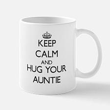 Keep Calm and Hug your Auntie Mugs