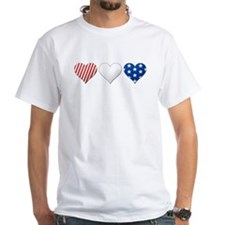 Flag Hearts T-Shirt