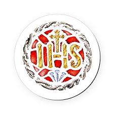 Jesuit Symbol Cork Coaster