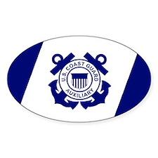 USCGAux-Flag-Decal Decal
