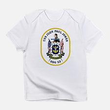 DDG 53 USS John Paul Jones Infant T-Shirt