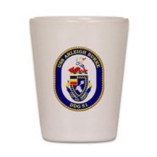 USS Arleigh Burke DDG-51 Shot Glass