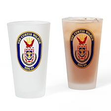 DDG-54 USS Curtis Wilbur Drinking Glass