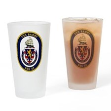 DDG 52 USS Barry Drinking Glass