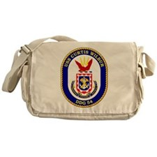 DDG-54 USS Curtis Wilbur Messenger Bag