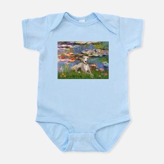 Lilies & Whippet Infant Bodysuit