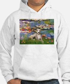 Lilies & Whippet Hoodie