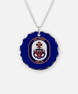 DDG-55 USS Stout Necklace