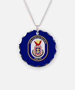DDG-54 USS Curtis Wilbur Necklace