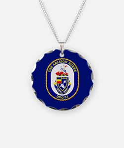 USS Arleigh Burke DDG-51 Necklace