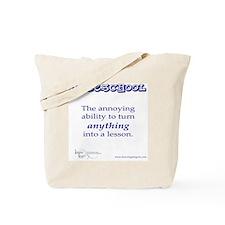 Unique Homeschool Tote Bag