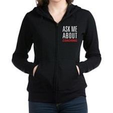 Coaching - Ask Me About Women's Zip Hoodie