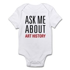 Art History - Ask Me About Onesie