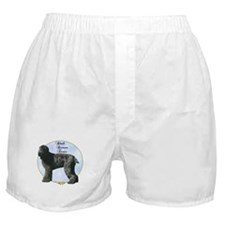 Black Russian Portrait Boxer Shorts