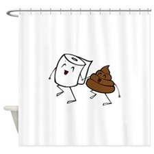BFFs Shower Curtain