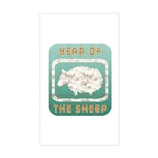 Year of The Sheep Decal