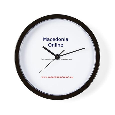 Macedonia Wall Clock