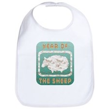 Year of The Sheep Bib