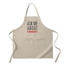 Croquet - Ask Me About Apron
