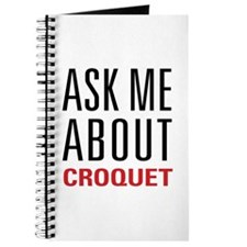 Croquet - Ask Me About Journal