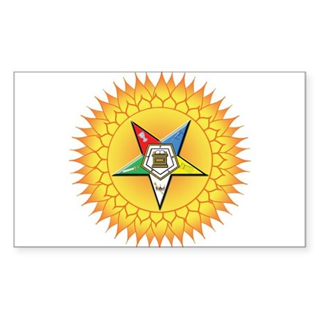 OES In the Sun Sticker (Rectangle)