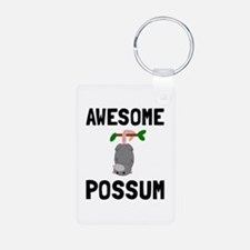 Awesome Possum Keychains