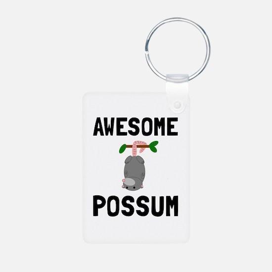 Awesome Possum Keychains