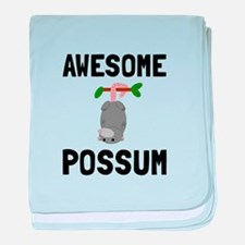 Awesome Possum baby blanket
