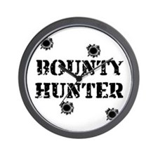 Bounty Hunter Wall Clock