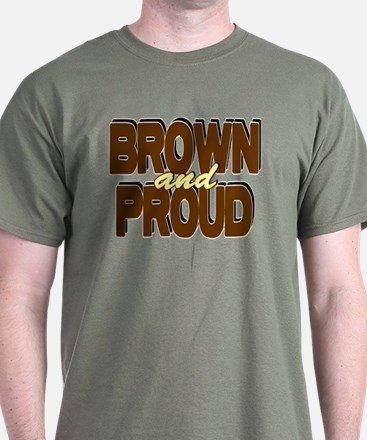 Brown and Proud T-Shirt