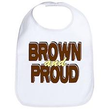 Brown and Proud Bib