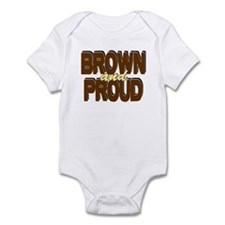 Brown and Proud Infant Bodysuit