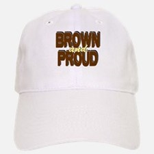 Brown and Proud Baseball Baseball Cap
