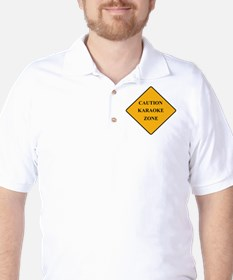 Caution Karaoke Zone T-Shirt