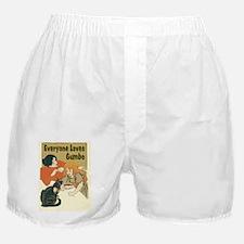 Everyone Loves Gumbo Boxer Shorts