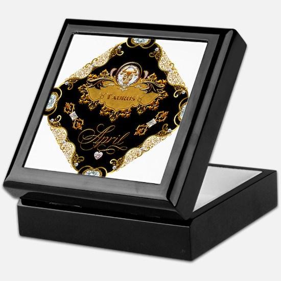 Taurus Keepsake Box