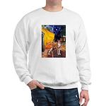Cafe & Whippet Sweatshirt