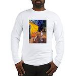 Cafe & Whippet Long Sleeve T-Shirt