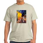 Cafe & Whippet Light T-Shirt